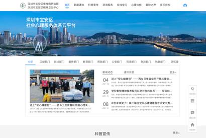 深圳宝安区社会米乐m6官网服务体系云平台